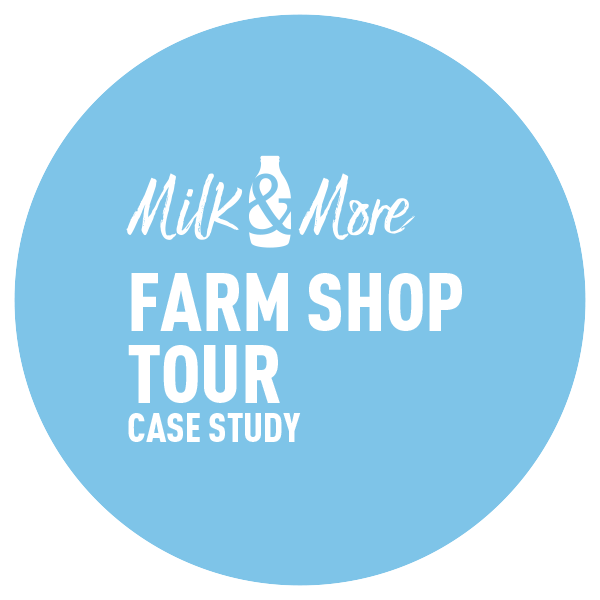 Circle-Agency-Milk&More farm-shop-title