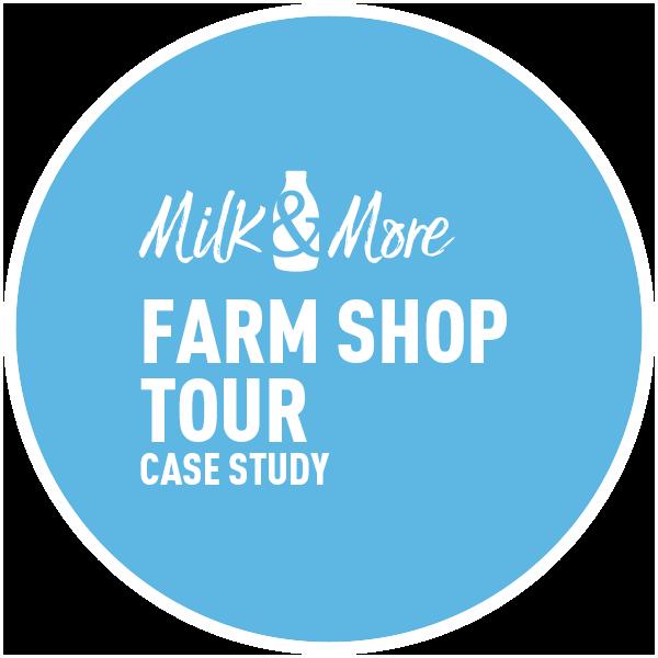 Circle-Agency-Milk&More farm-shop-title