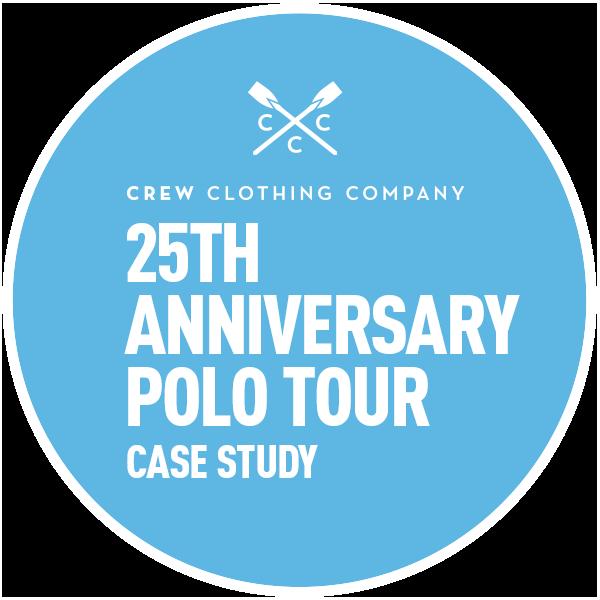 Circle Agency Crew Clothing 25th Anniversary