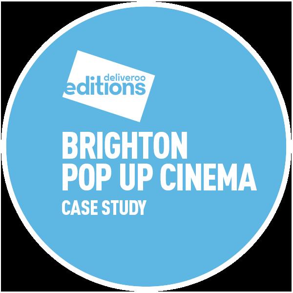 Circle-Agency Deliveroo Pop up cinema