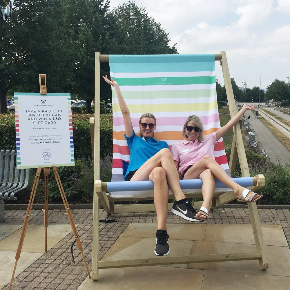 Circle Agency Crew Clothing deckchair