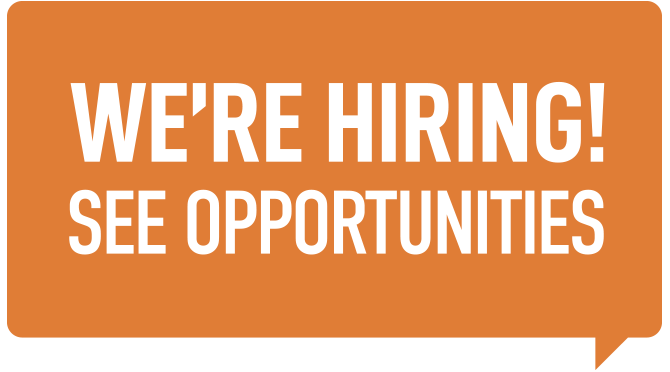 We're hiring! See opportunities